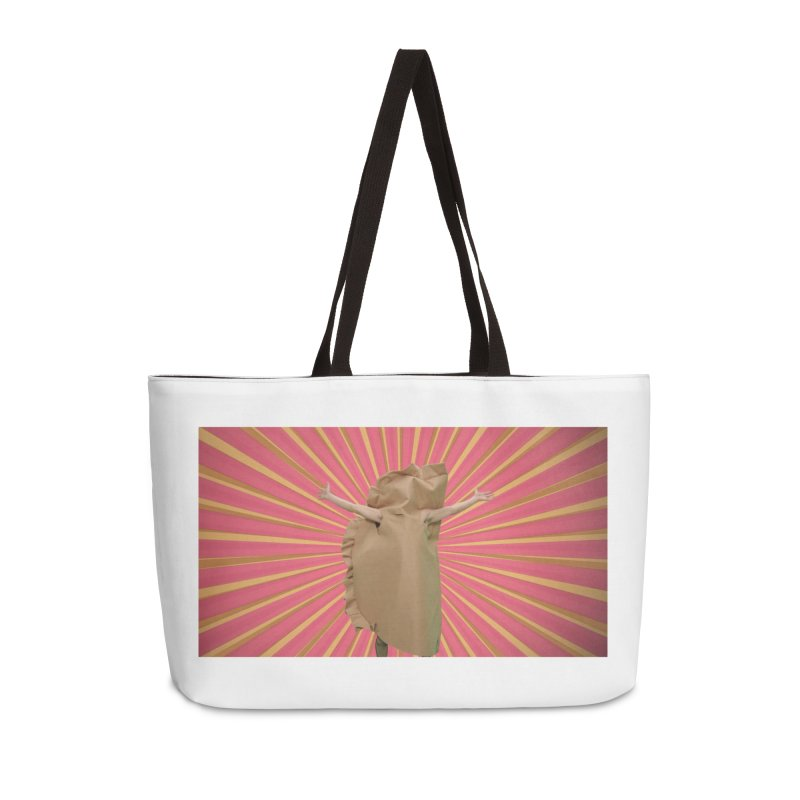 Pan Pierog - EAT PIEROGI Accessories Weekender Bag Bag by Mee And The Band