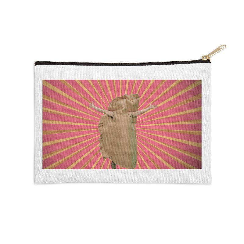 Pan Pierog - EAT PIEROGI Accessories Zip Pouch by Mee And The Band