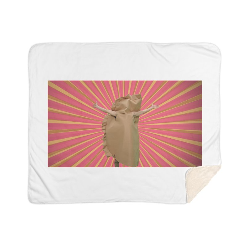 Pan Pierog - EAT PIEROGI Home Sherpa Blanket Blanket by Mee And The Band