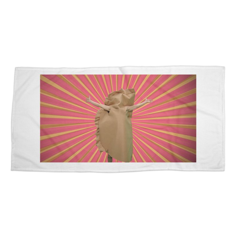 Pan Pierog - EAT PIEROGI Accessories Beach Towel by Mee And The Band
