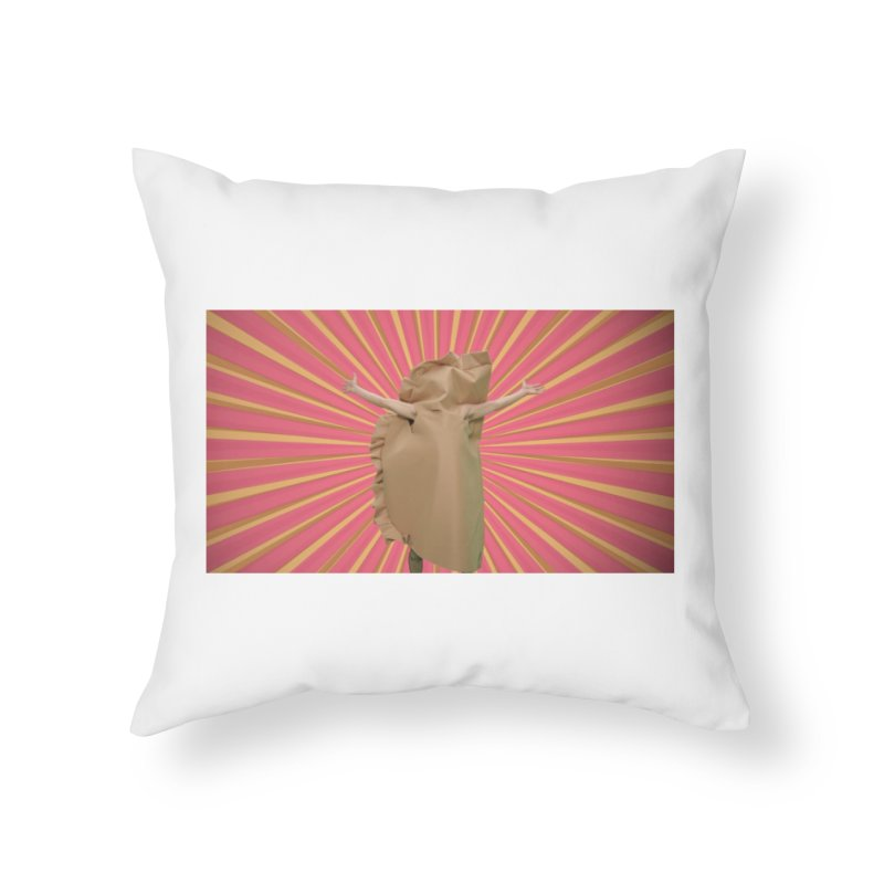 Pan Pierog - EAT PIEROGI Home Throw Pillow by Mee And The Band