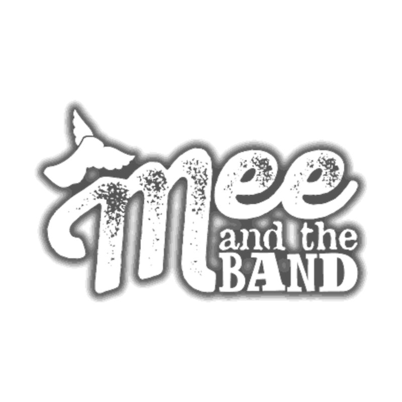 Mee And The Band Logo with shadow Men's Zip-Up Hoody by Mee And The Band