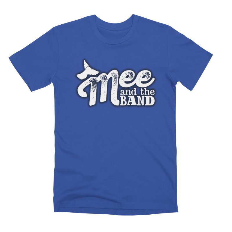 Mee And The Band Logo with shadow Men's Premium T-Shirt by Mee And The Band