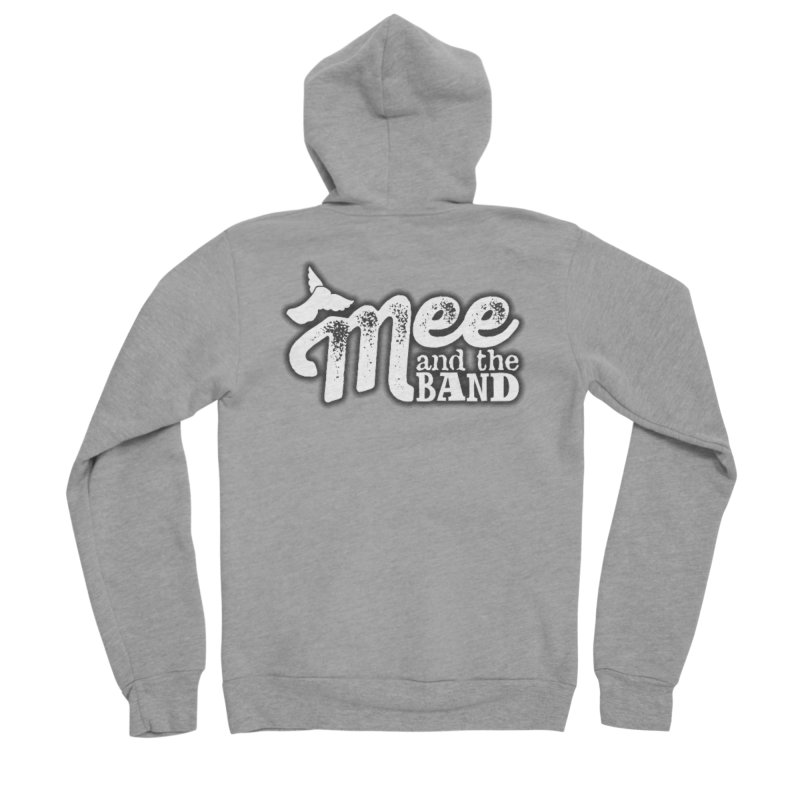 Mee And The Band Logo with shadow Men's Sponge Fleece Zip-Up Hoody by Mee And The Band
