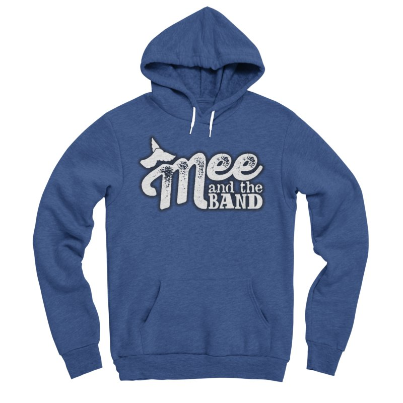Mee And The Band Logo with shadow Women's Sponge Fleece Pullover Hoody by Mee And The Band