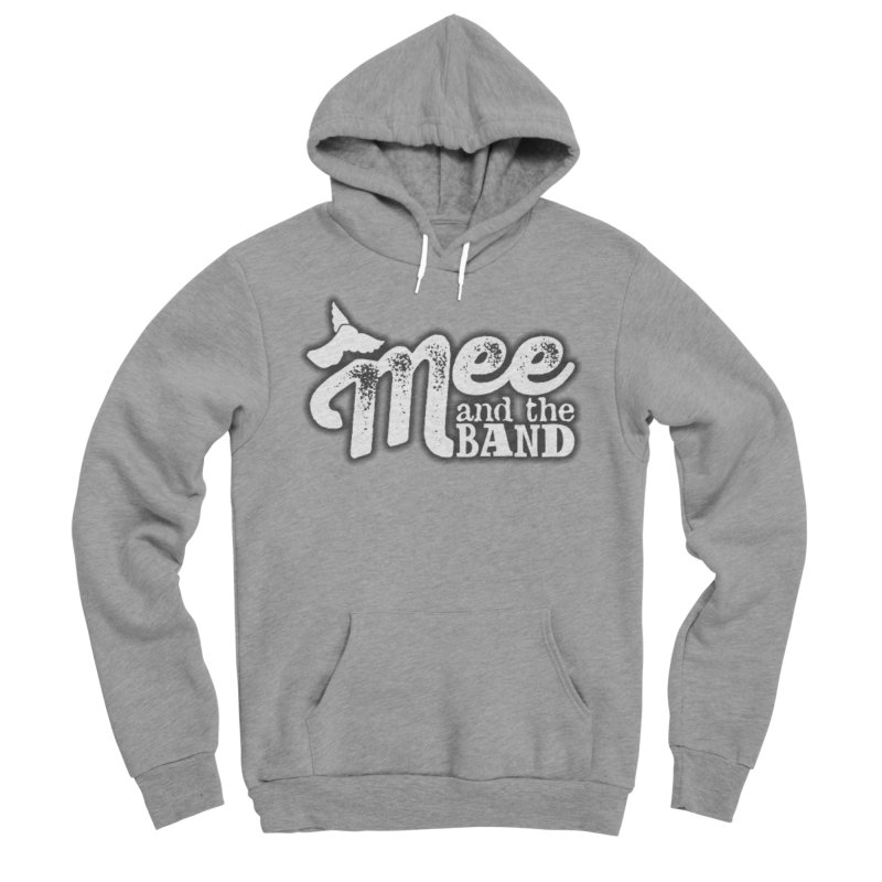 Mee And The Band Logo with shadow Men's Sponge Fleece Pullover Hoody by Mee And The Band