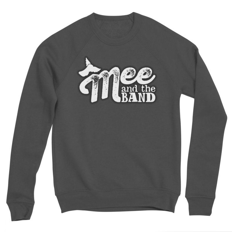 Mee And The Band Logo with shadow Women's Sponge Fleece Sweatshirt by Mee And The Band