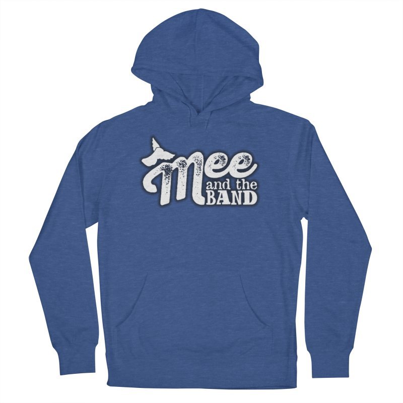 Mee And The Band Logo with shadow Women's French Terry Pullover Hoody by Mee And The Band