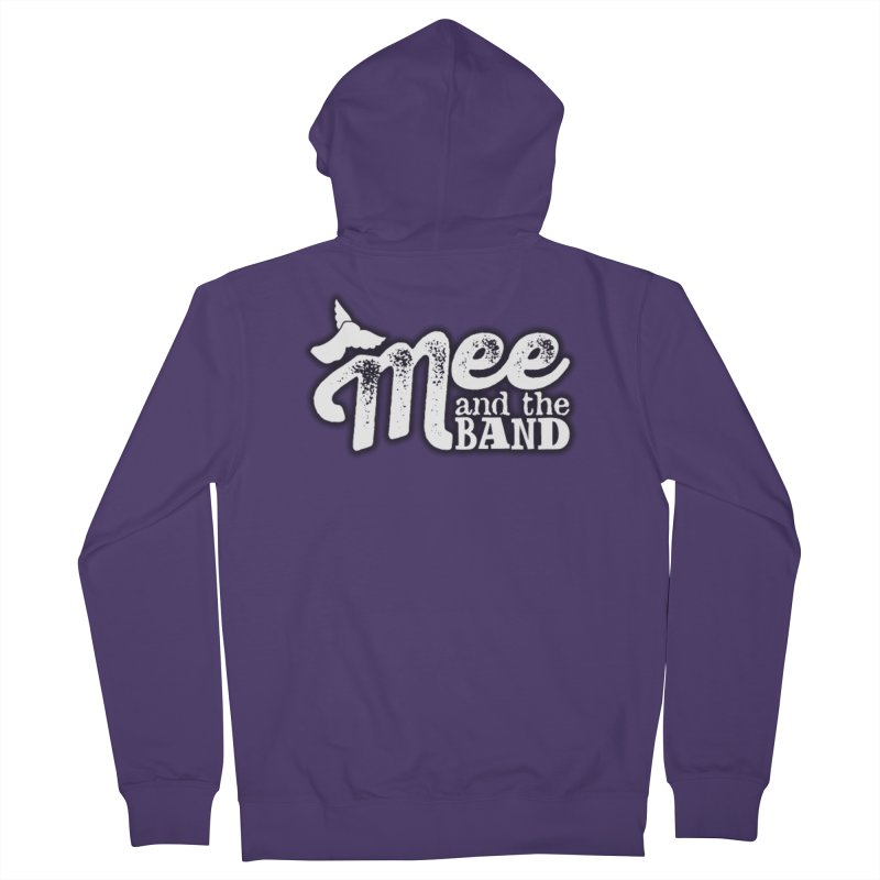 Mee And The Band Logo with shadow Women's French Terry Zip-Up Hoody by Mee And The Band