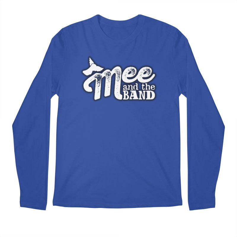Mee And The Band Logo with shadow Men's Regular Longsleeve T-Shirt by Mee And The Band