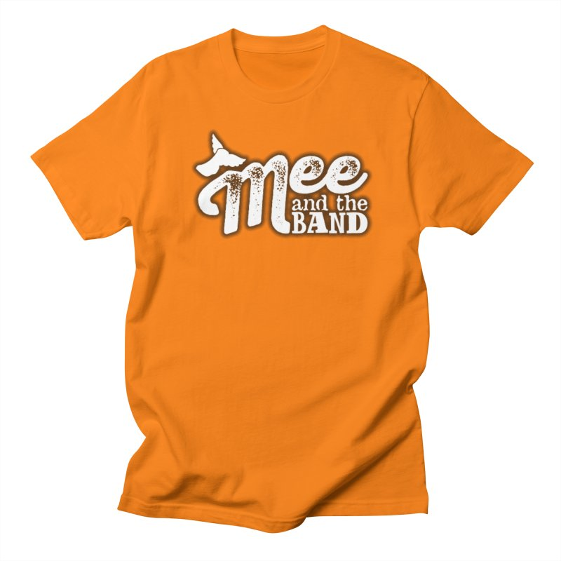 Mee And The Band Logo with shadow Women's Regular Unisex T-Shirt by Mee And The Band