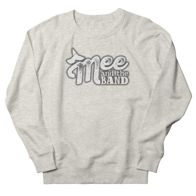 Mee And The Band Logo with shadow Women's French Terry Sweatshirt by Mee And The Band