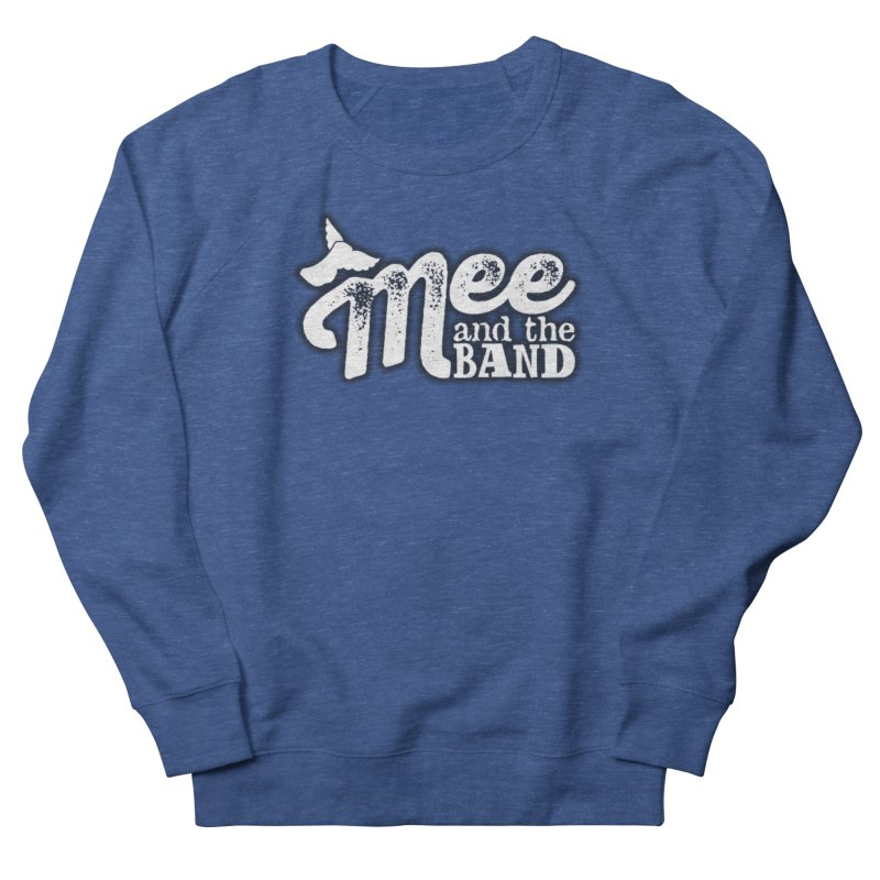 Mee And The Band Logo with shadow in Men's French Terry Sweatshirt Heather Royal by Mee And The Band