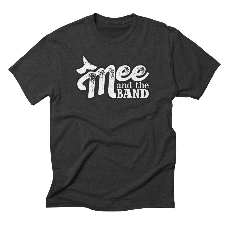 Mee And The Band Logo with shadow Men's Triblend T-Shirt by Mee And The Band