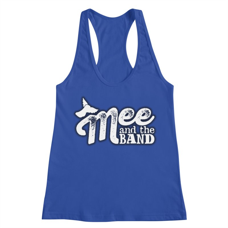 Mee And The Band Logo with shadow Women's Racerback Tank by Mee And The Band