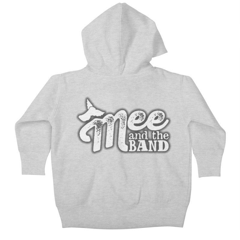 Mee And The Band Logo with shadow Kids Baby Zip-Up Hoody by Mee And The Band