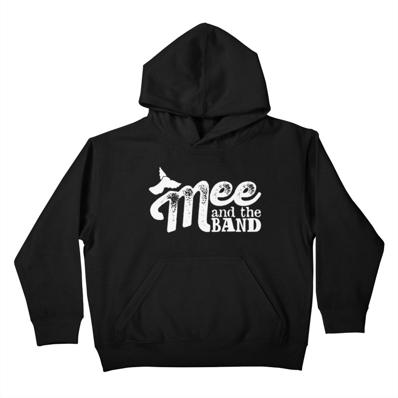 Mee And The Band Logo with shadow Kids Pullover Hoody by Mee And The Band