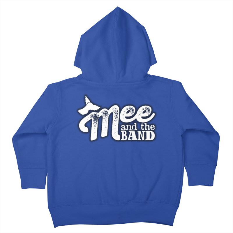 Mee And The Band Logo with shadow Kids Toddler Zip-Up Hoody by Mee And The Band
