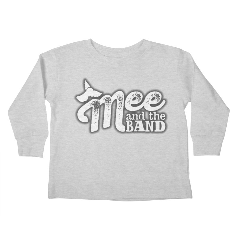 Mee And The Band Logo with shadow Kids Toddler Longsleeve T-Shirt by Mee And The Band