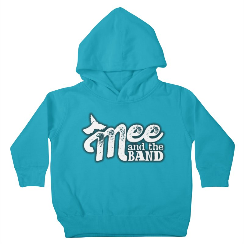 Mee And The Band Logo with shadow Kids Toddler Pullover Hoody by Mee And The Band