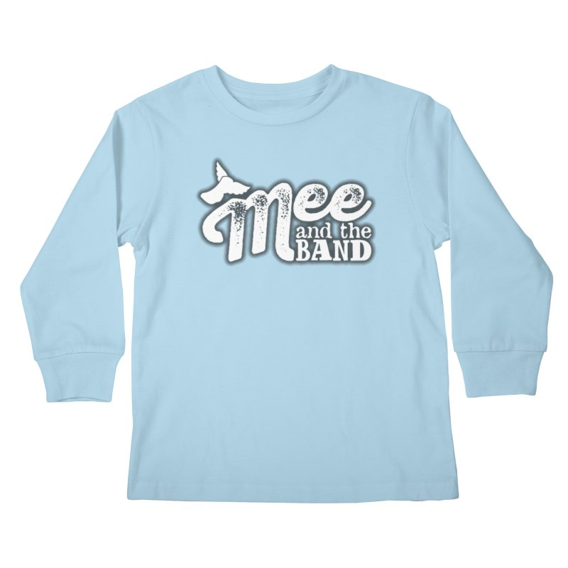 Mee And The Band Logo with shadow Kids Longsleeve T-Shirt by Mee And The Band