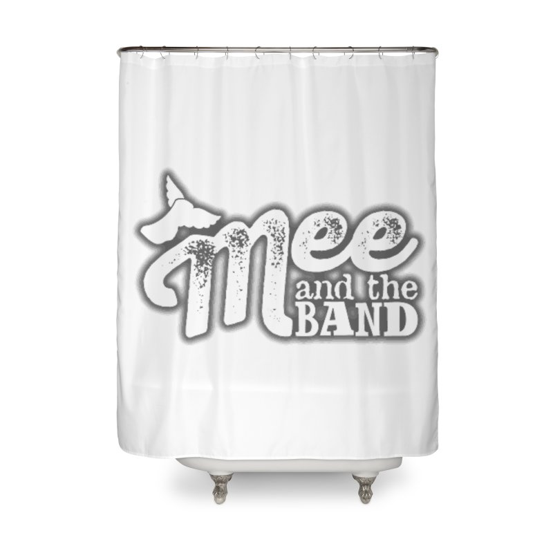 Mee And The Band Logo with shadow Home Shower Curtain by Mee And The Band