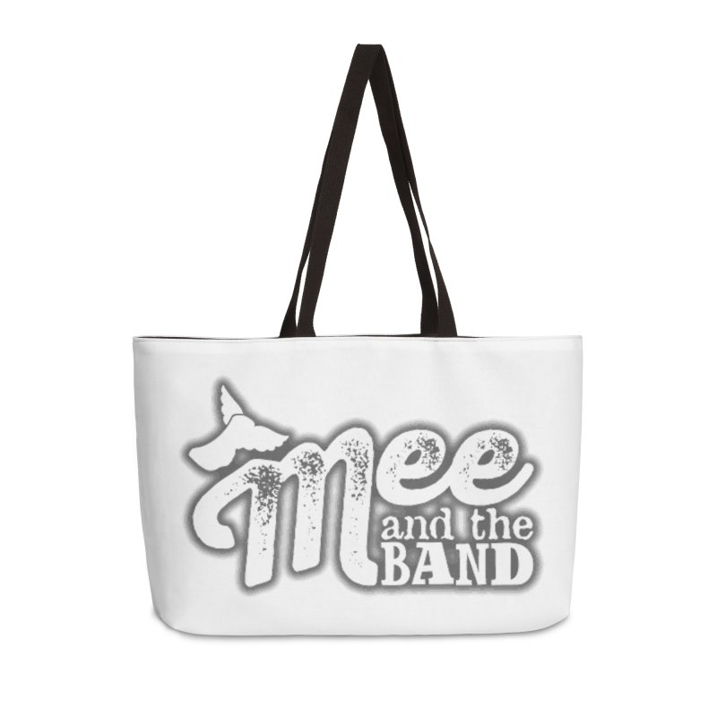 Mee And The Band Logo with shadow Accessories Weekender Bag Bag by Mee And The Band