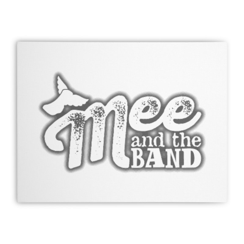 Mee And The Band Logo with shadow Home Stretched Canvas by Mee And The Band