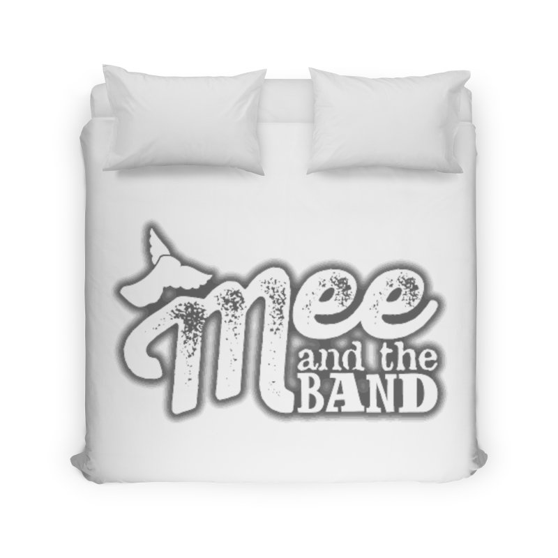 Mee And The Band Logo with shadow Home Duvet by Mee And The Band