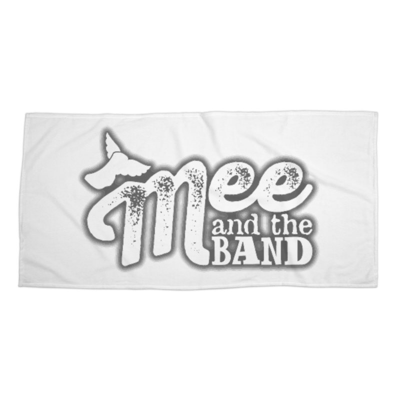 Mee And The Band Logo with shadow Accessories Beach Towel by Mee And The Band