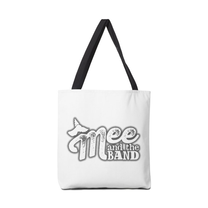 Mee And The Band Logo with shadow Accessories Tote Bag Bag by Mee And The Band