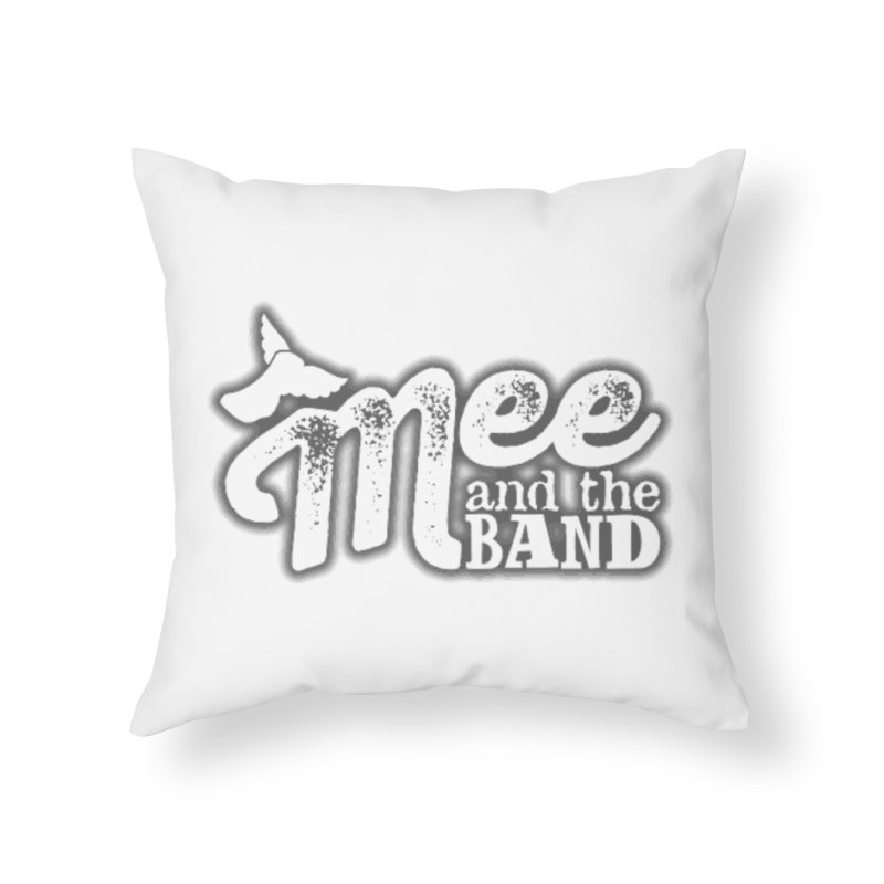 Mee And The Band Logo with shadow Home Throw Pillow by Mee And The Band