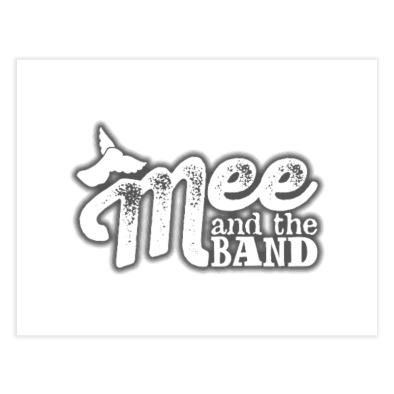 Mee And The Band Logo with shadow Home Fine Art Print by Mee And The Band