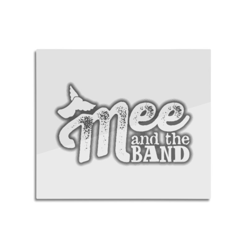 Mee And The Band Logo with shadow Home Mounted Aluminum Print by Mee And The Band