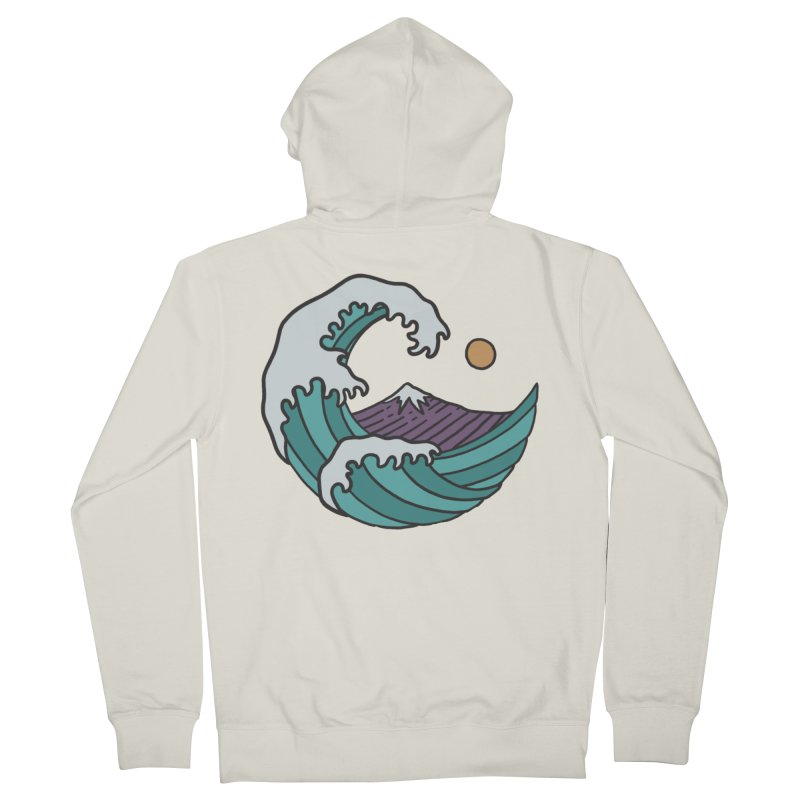 Great Wave Women's Zip-Up Hoody by MEECH