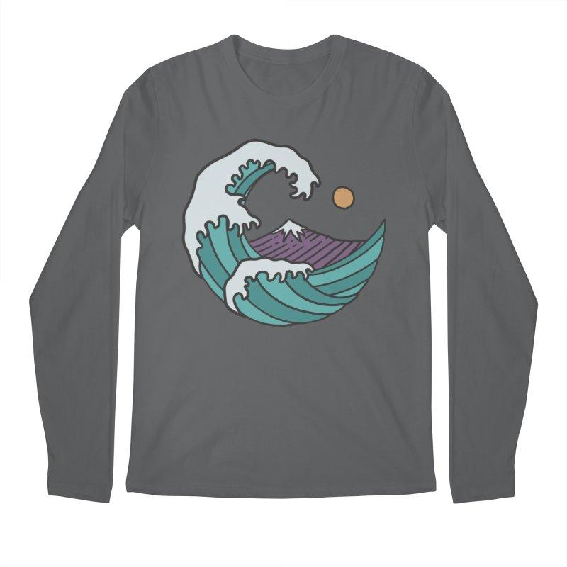 Great Wave Men's Longsleeve T-Shirt by MEECH