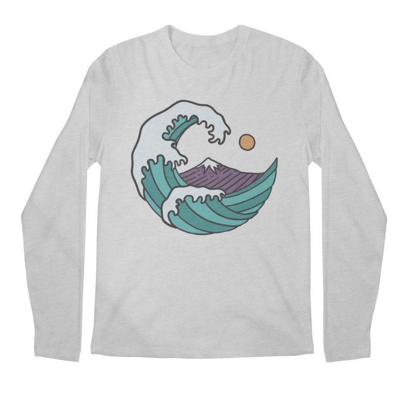 Great Wave Men's Longsleeve T-Shirt by MEECH