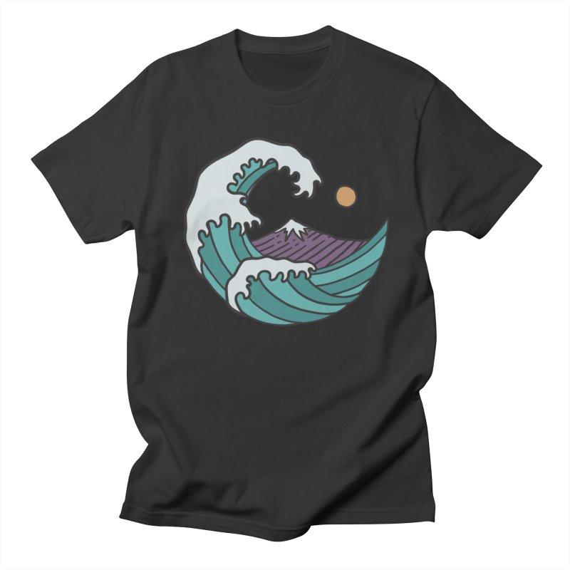 Great Wave Women's Unisex T-Shirt by MEECH