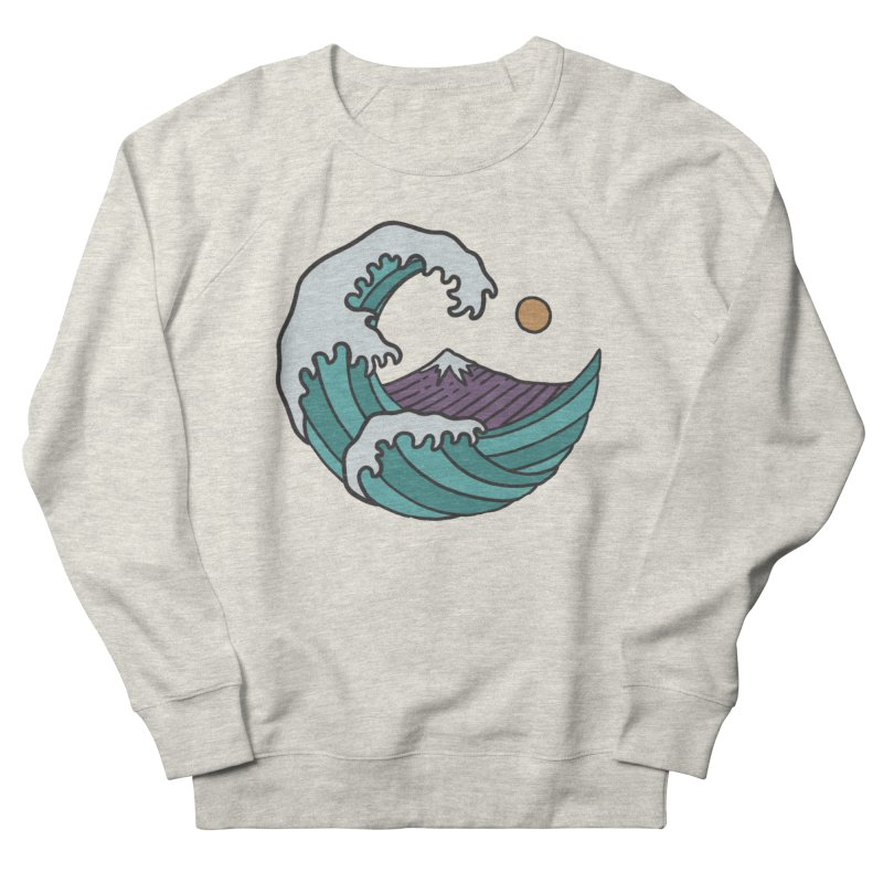 Great Wave Women's Sweatshirt by MEECH