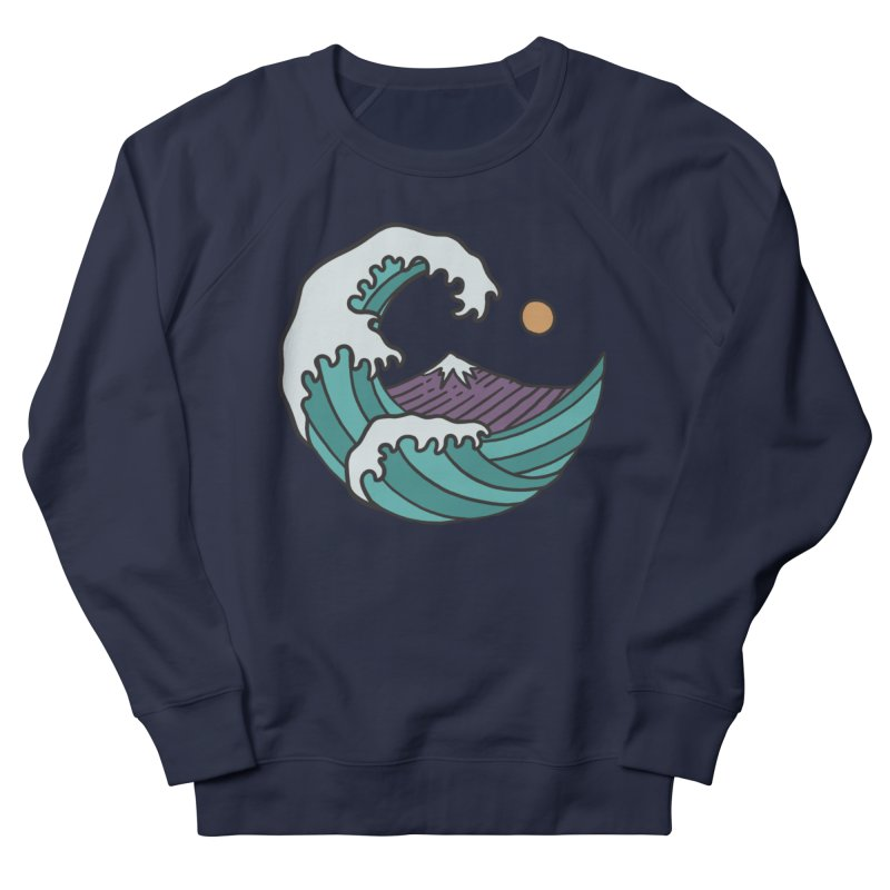 Great Wave Men's Sweatshirt by MEECH