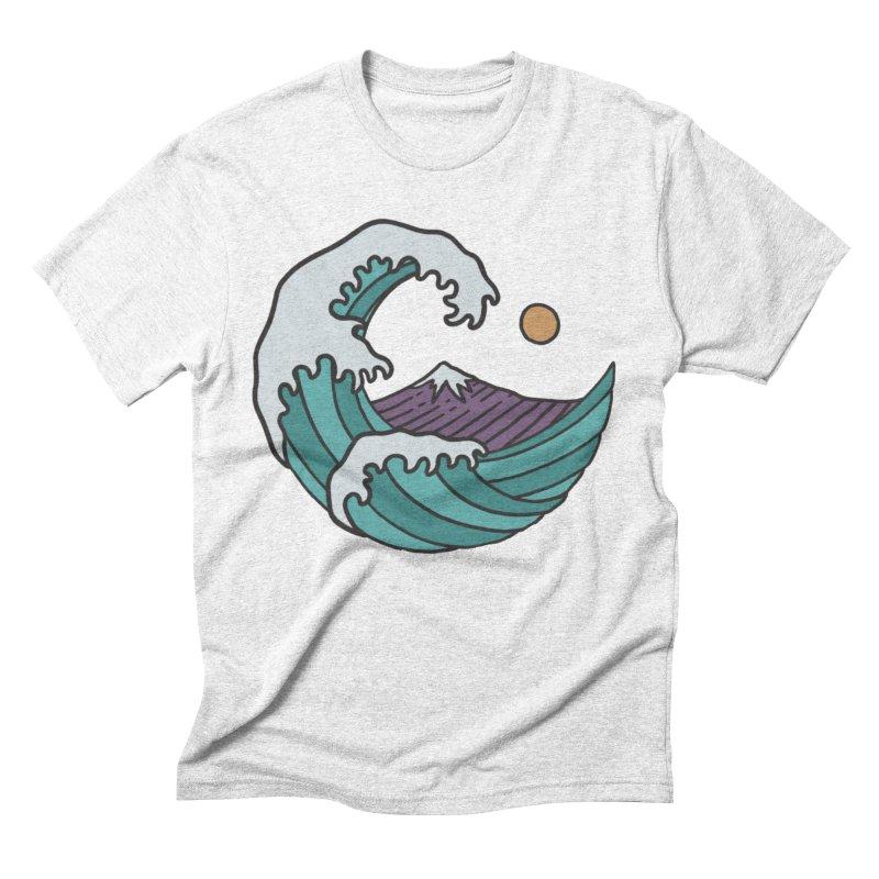 Great Wave Men's Triblend T-shirt by MEECH