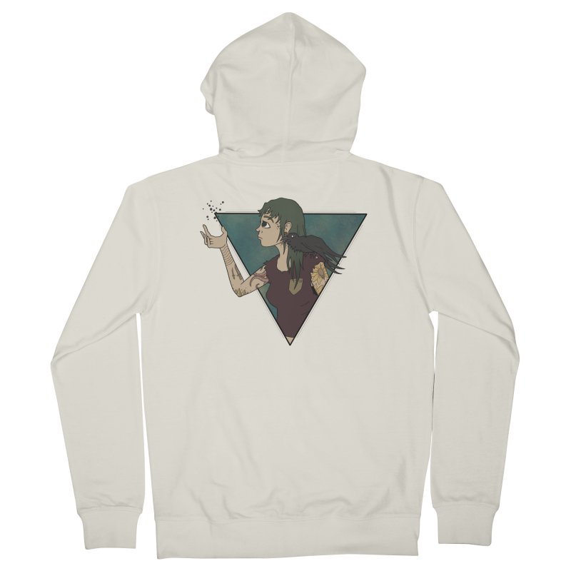 Bending the dark void Women's Zip-Up Hoody by MEECH