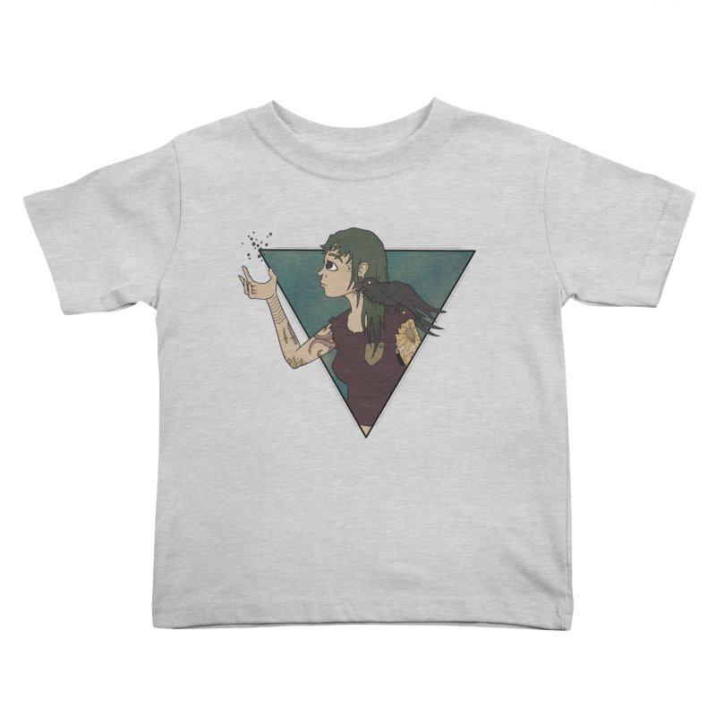 Bending the dark void Kids Toddler T-Shirt by MEECH