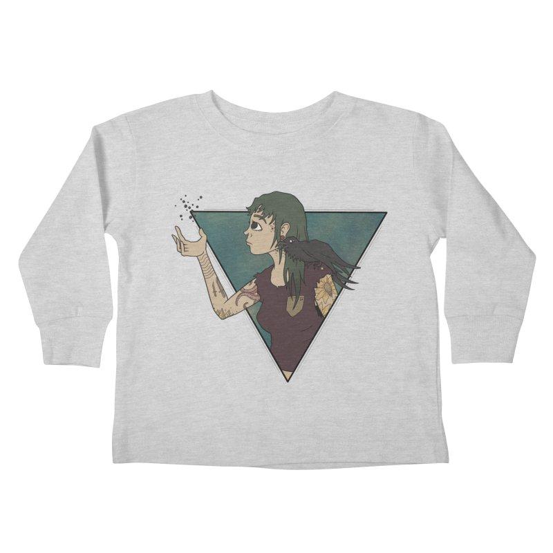 Bending the dark void Kids Toddler Longsleeve T-Shirt by MEECH