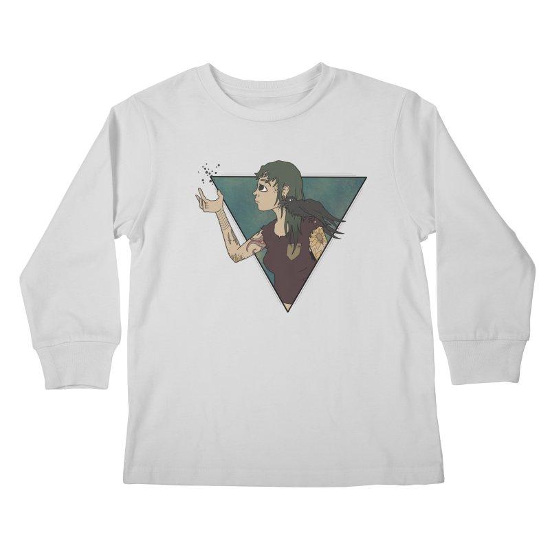 Bending the dark void Kids Longsleeve T-Shirt by MEECH