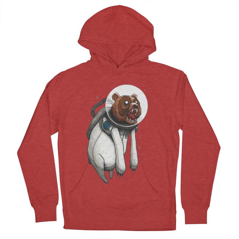 Space Bear Men's Pullover Hoody by MEECH