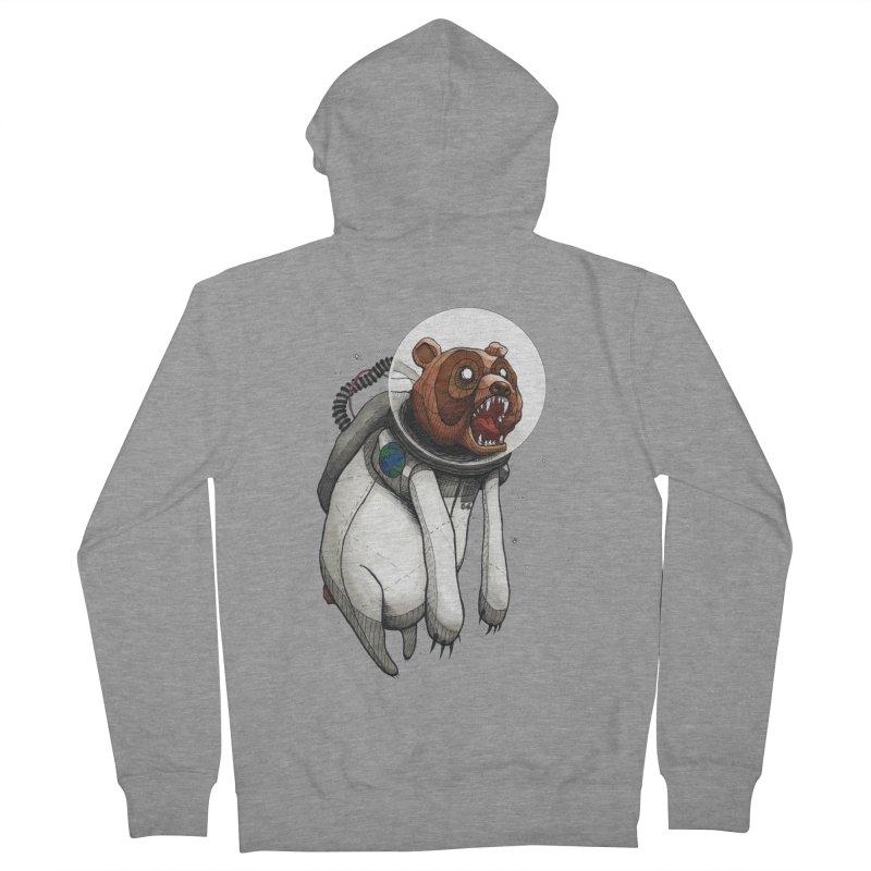 Space Bear Women's Zip-Up Hoody by MEECH