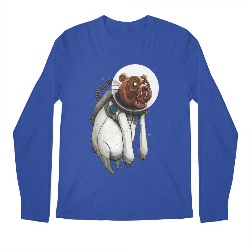 Space Bear Men's Longsleeve T-Shirt by MEECH