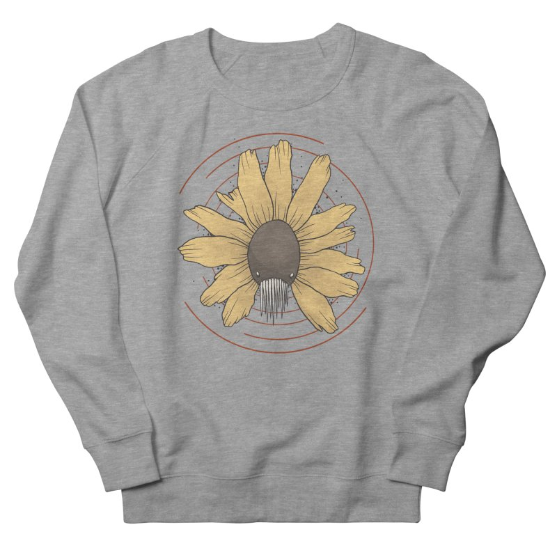 All the flowers in Men's French Terry Sweatshirt Heather Graphite by VonCricket