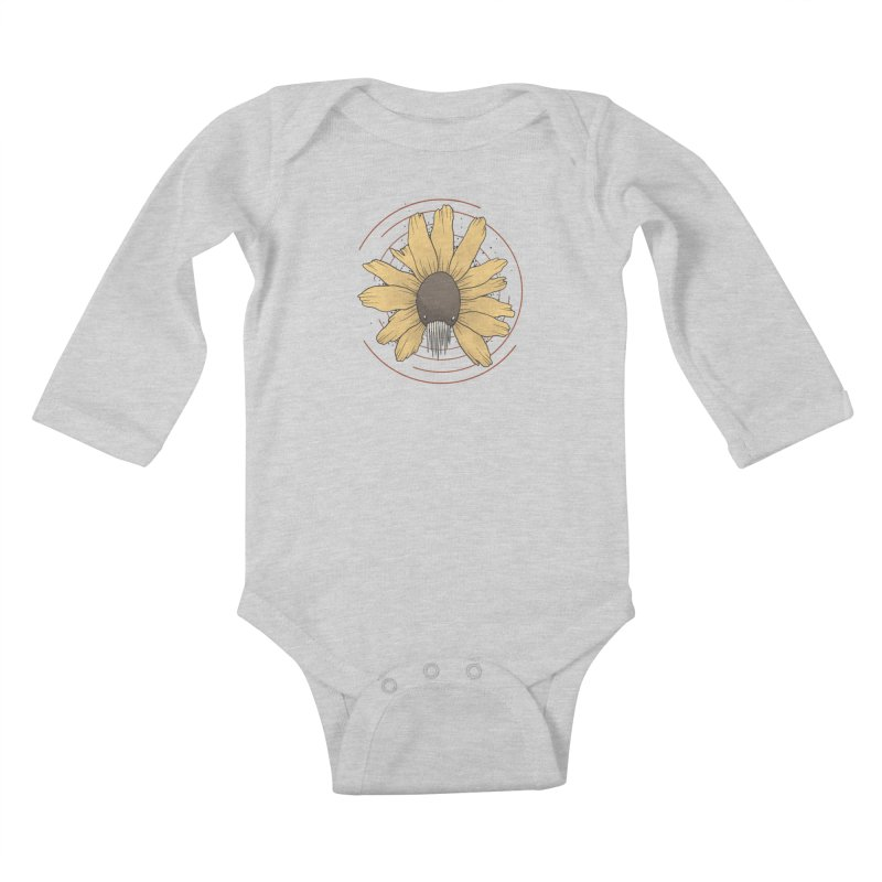 All the flowers Kids Baby Longsleeve Bodysuit by MEECH